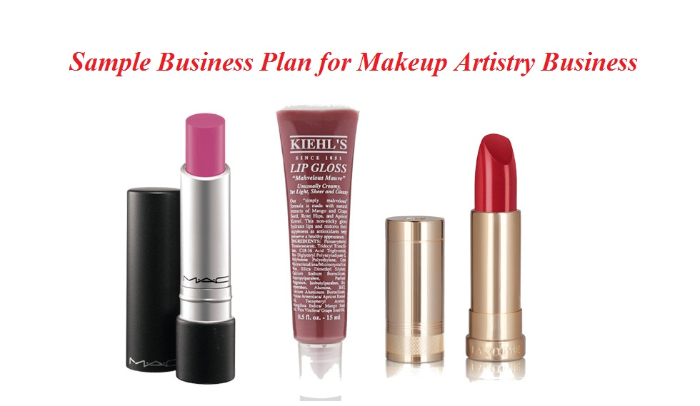 Makeup Artist Business Plan Sample Writing Guidelines