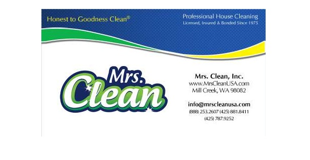 residential  u0026 house cleaning business card samples