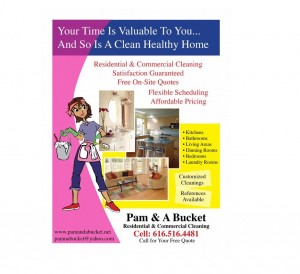 Residential House Cleaning Business Flyer Examples