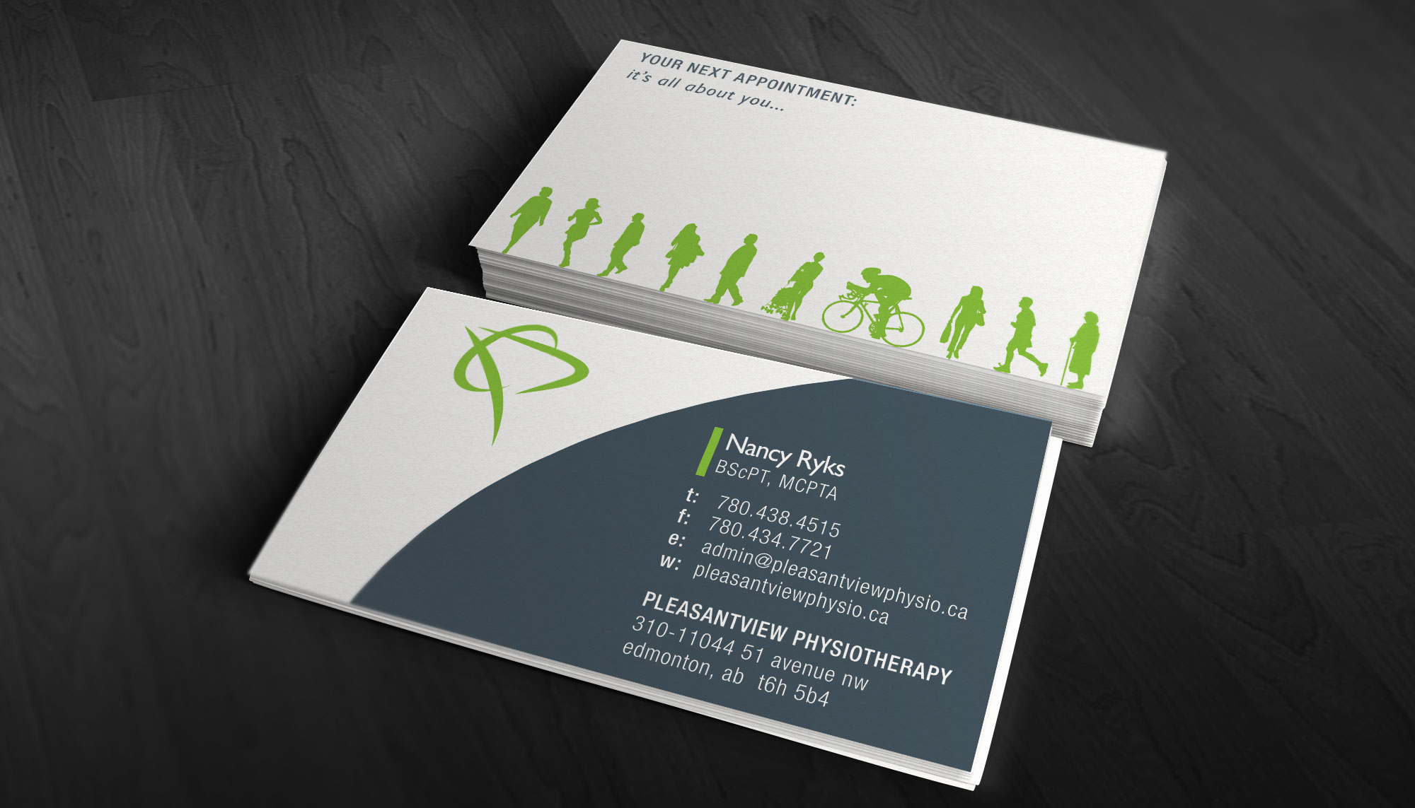 physiotherapy business card design ideas  samples