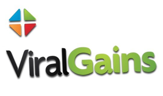 ViralGains logo