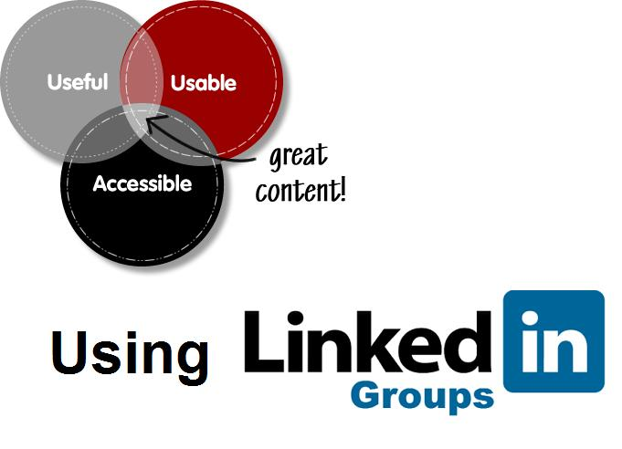 how to create great content using linkedin groups