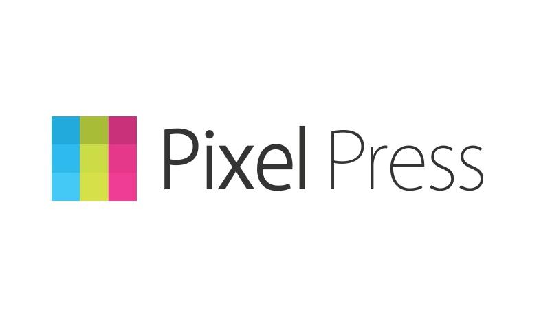 pixel press logo