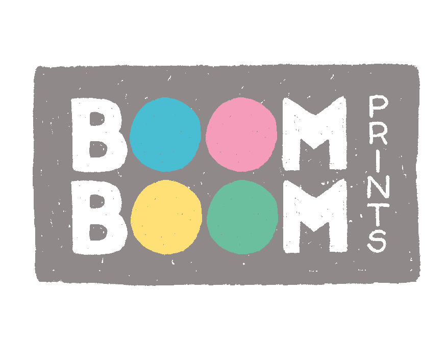 boomboom prints logo