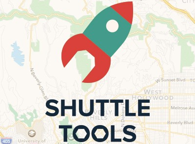 Shuttle Tools Map Manager logo