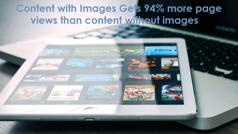 content marketing with images main