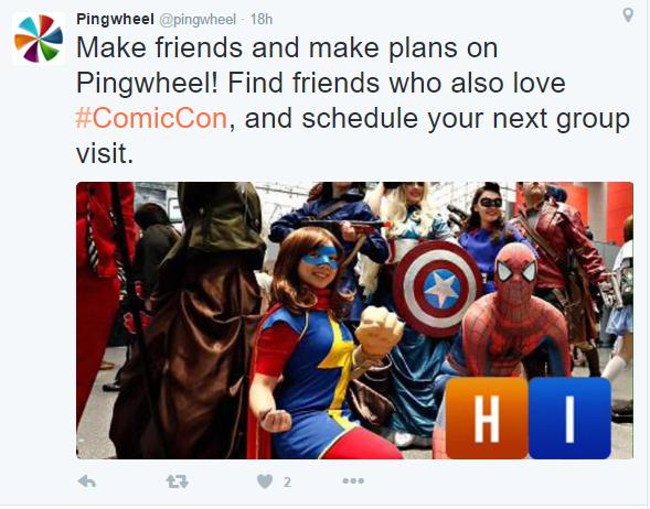 pingwheel main image