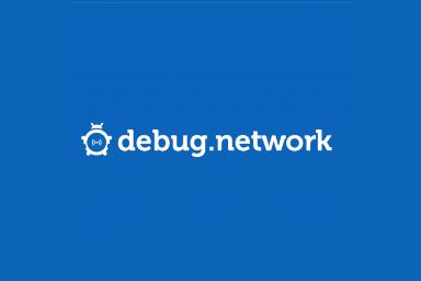 debug network logo