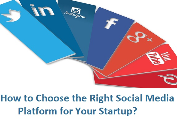 how to choose the right social media network for your startup