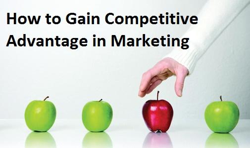 Competitive Advantage in Marketing
