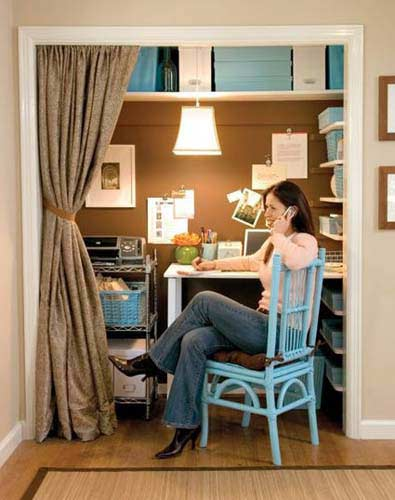 small home office design ideas 6 - Small Home Office Design Ideas