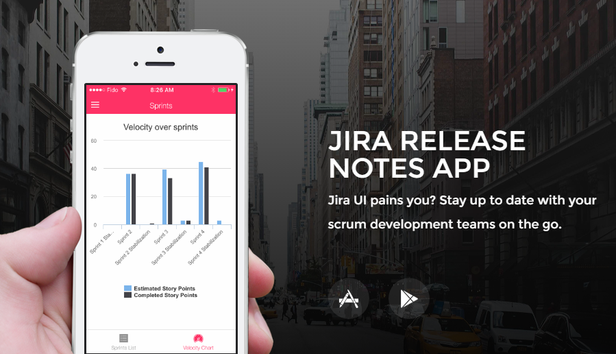Scrum Release Notes for JIRA main image