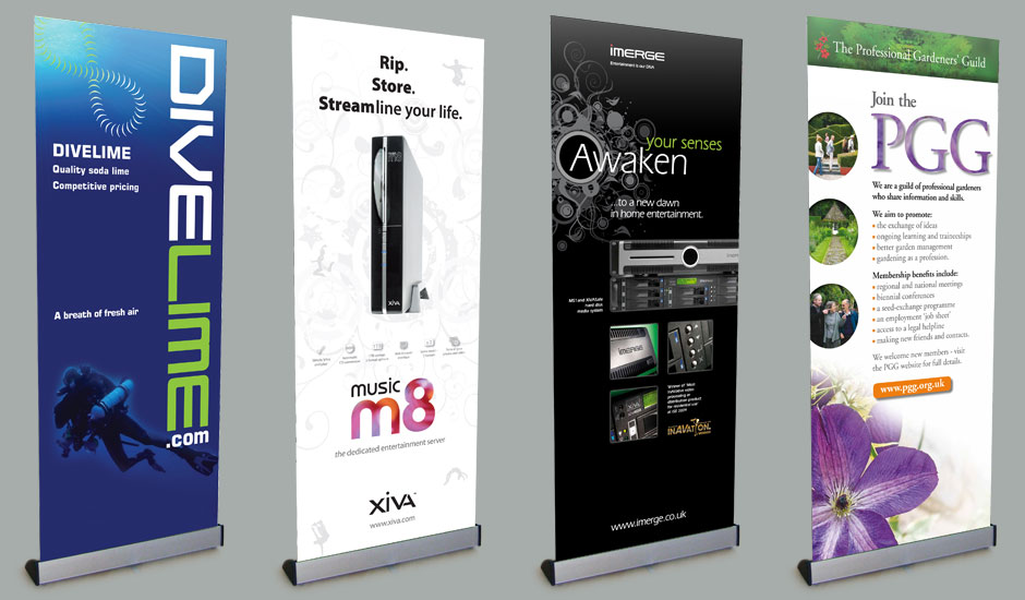 pop up marketing stands