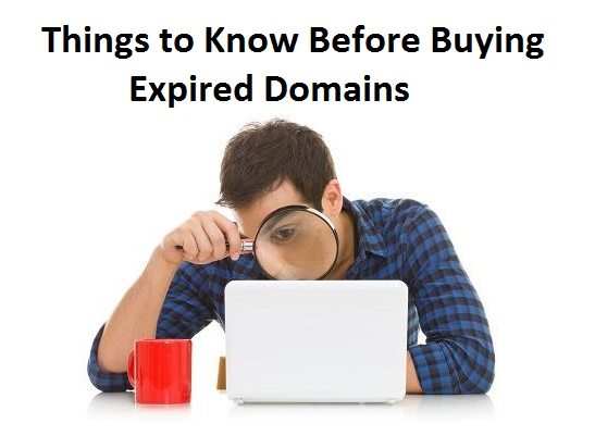 things to know before buyinge xpired domains