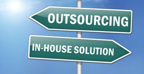 """Way Signs """"Outsourcing - In-House Solutions"""""""