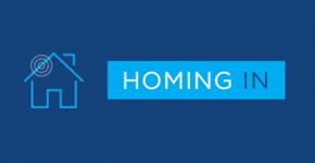 homing in logo