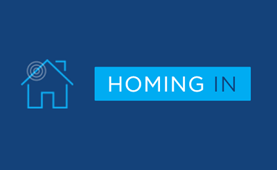 homing in logo