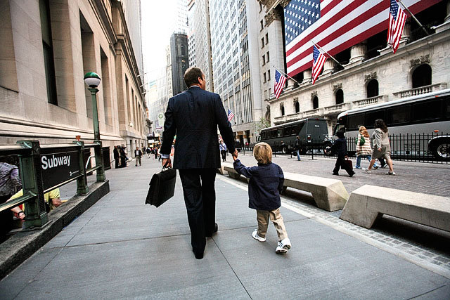 walking on wallstreet