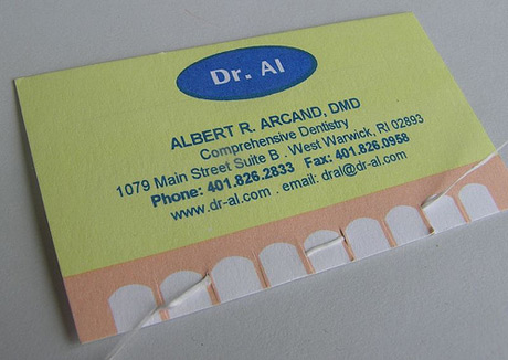 Dental Business Card Samples