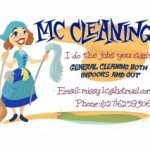examples of house cleaning flyers