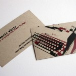 Writers & Content Developers Business Card Examples | StartupGuys.net