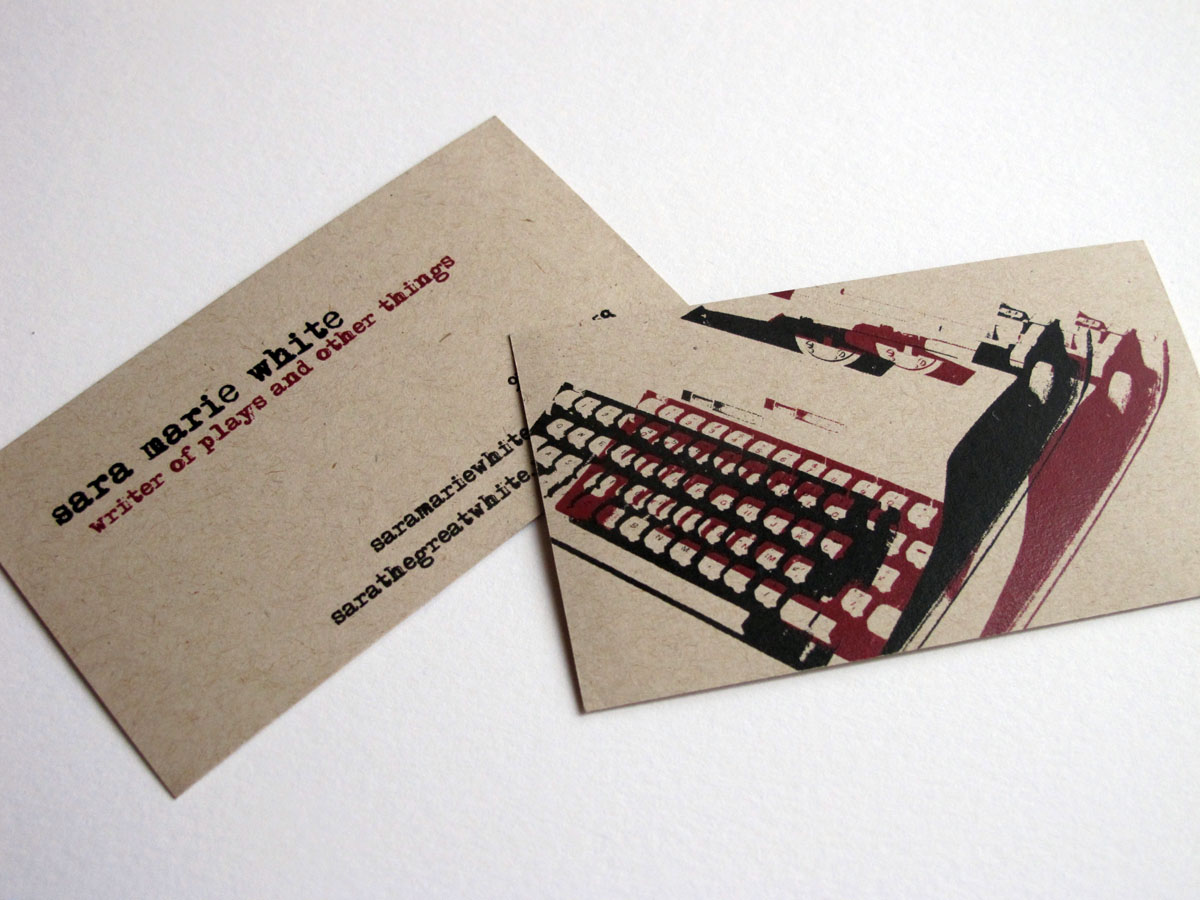 writers  u0026 content developers business card examples