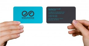 Physiotherapy Business Card Design Ideas