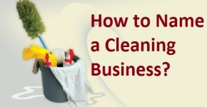 how to name a cleaning services business