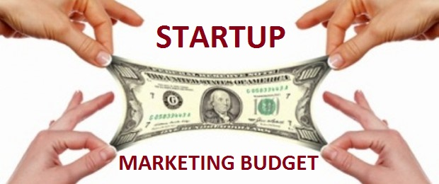 Calculating startup marketing budget