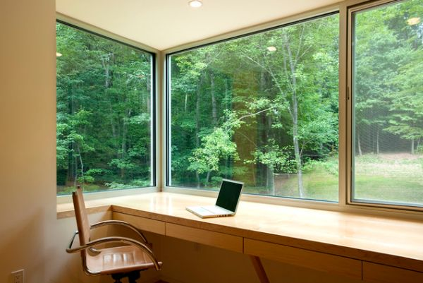 home office desk placement