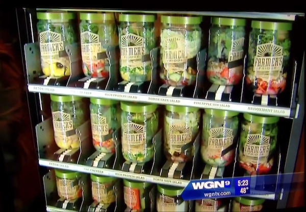 healthy food vending machine