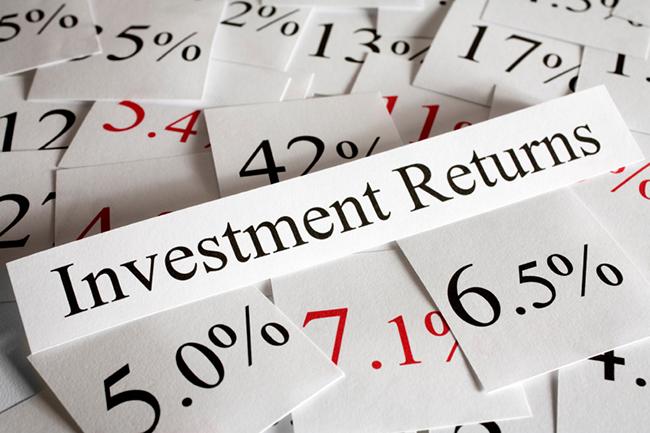Investment Returns Concept