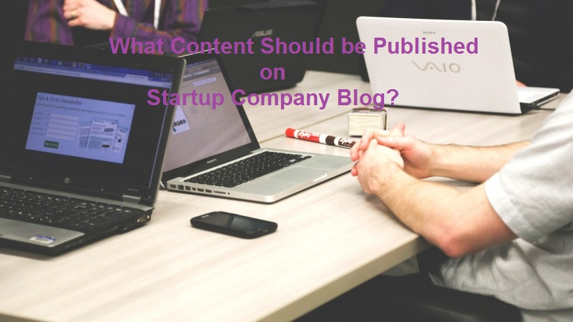 content type for startup company blog
