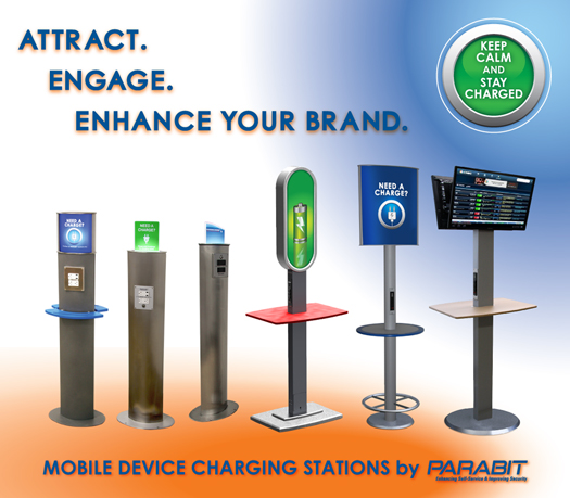 commercial phone charging station