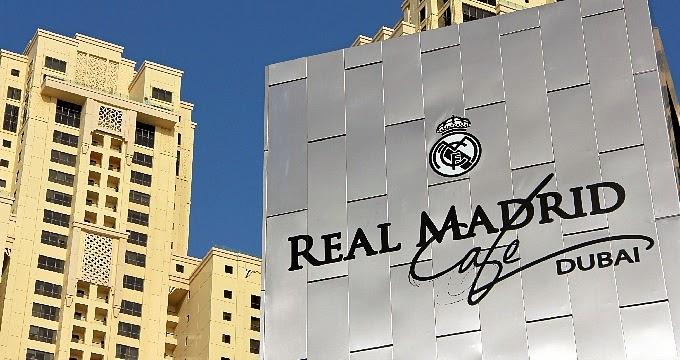 Real Madrid Cafe Dubai logo