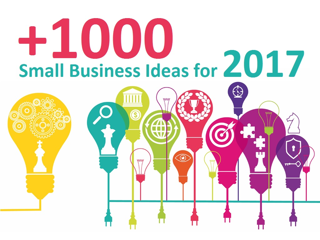 Check Out Our Comprehensive Lists Of Small Business Ideas For 2017 And  Start Your Own Business With Low Or No Investment!