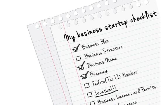 lista de verificación para iniciar un negocio en texas