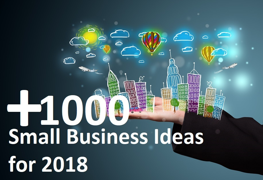 1000 Low or No Cost Small Business Ideas for 2018 | StartupGuys.net