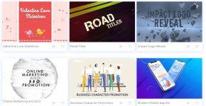 Renderforest online video editing platform
