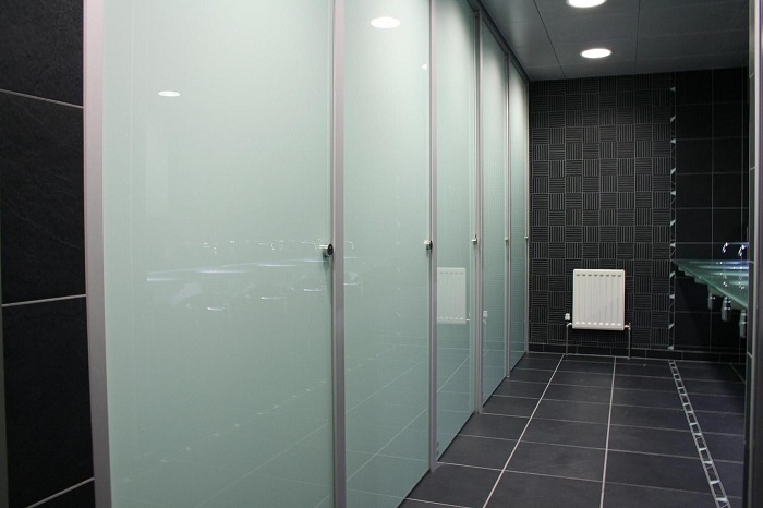used restroom partitions
