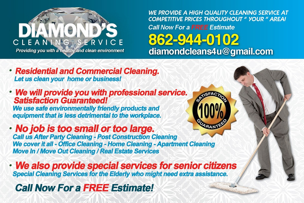 commercial cleaning business flyers sample