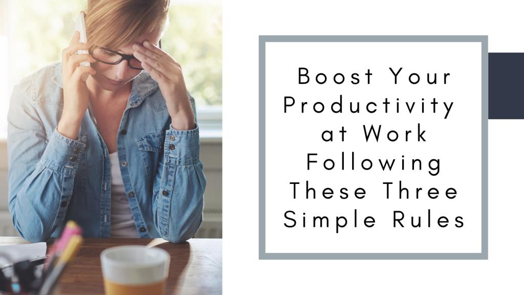 work productvity