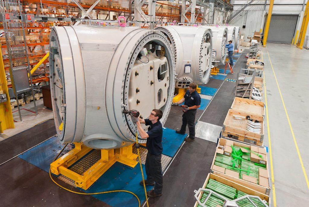 fabricación eólica americana