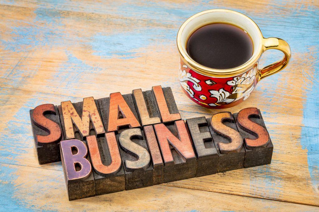 small business in letterpress wood type