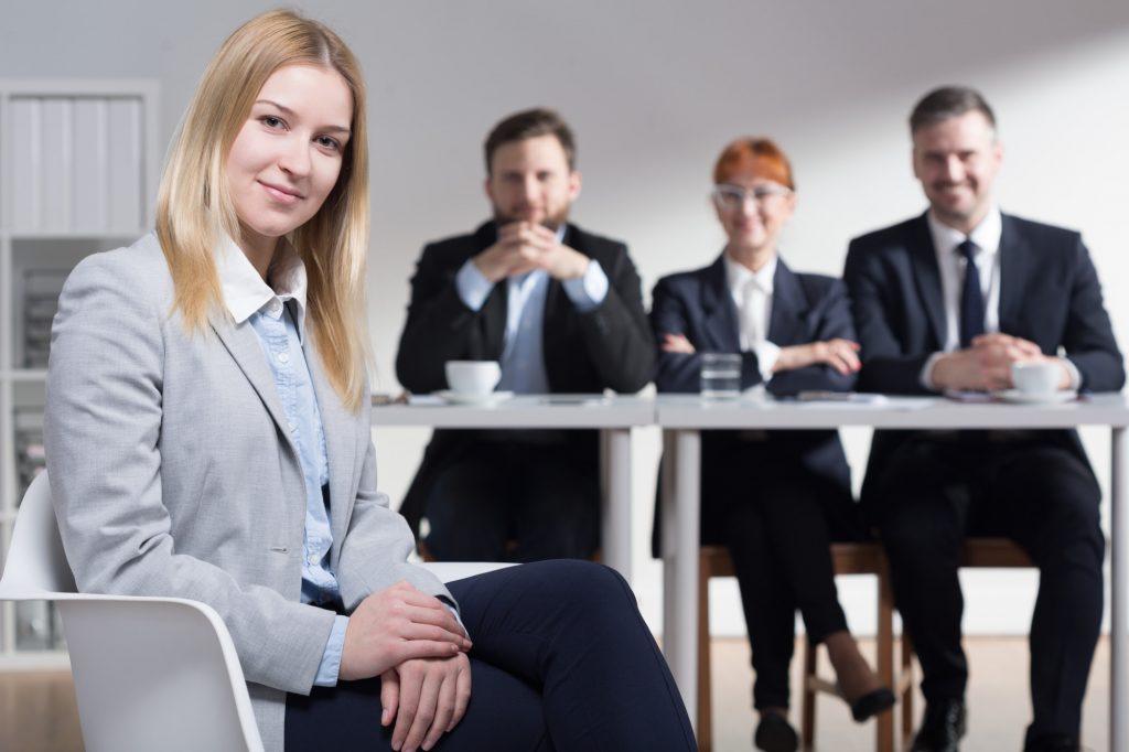 executives striking a pose