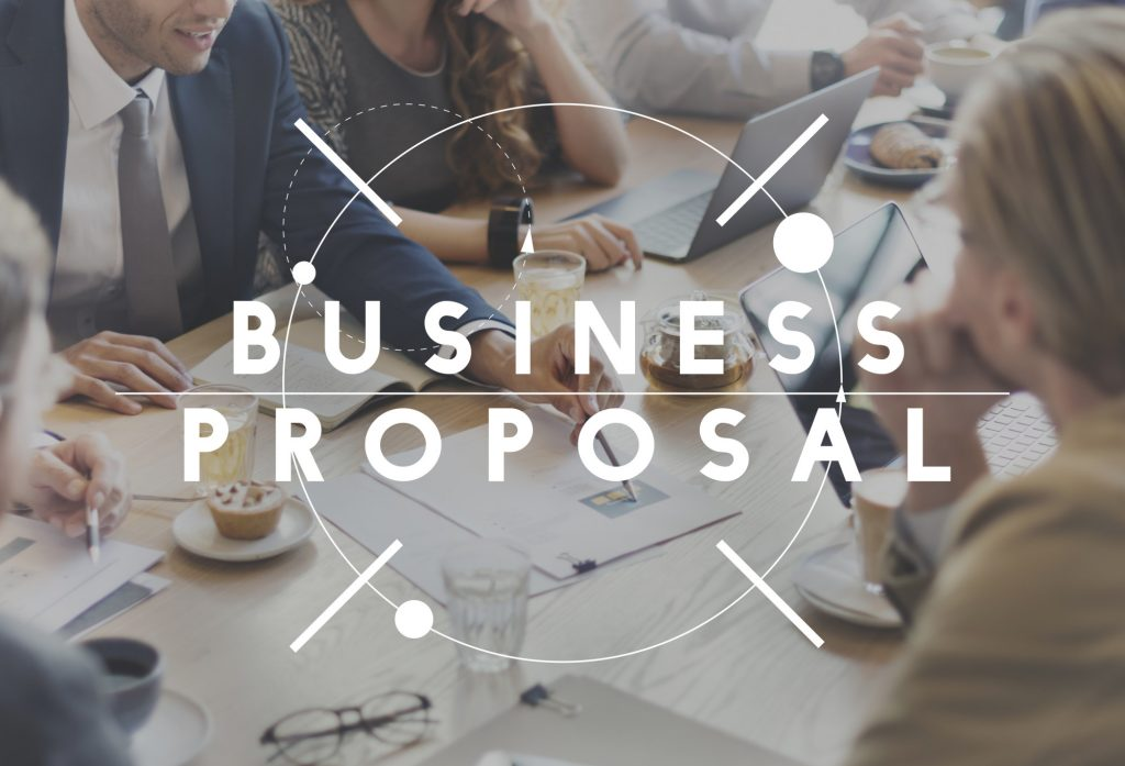 business proposal text
