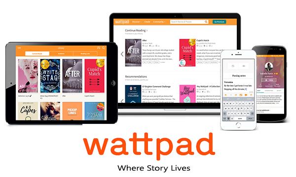 Write a love story at Wattpad