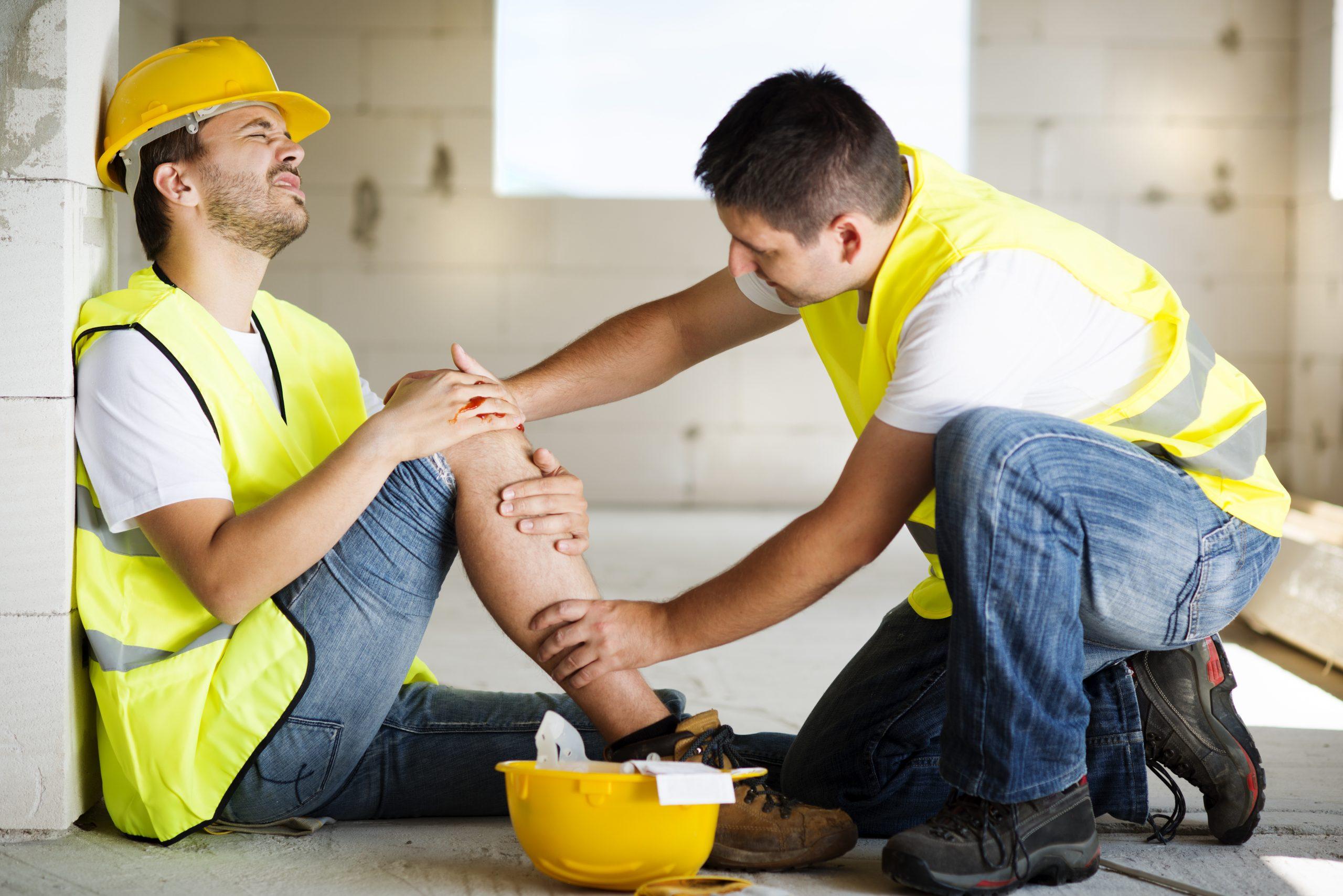 helping injured