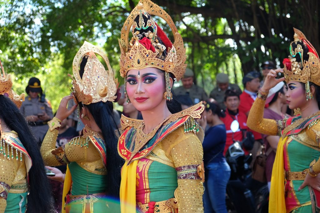 lady in national costume