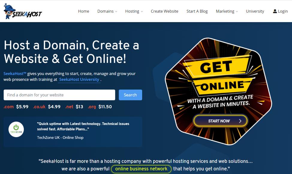 hosting site